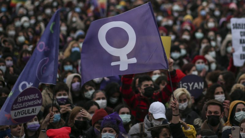 Turkey's withdrawal from women's treaty sparks outrage