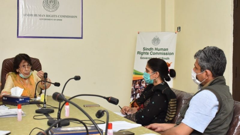 Sindh Human Rights Commission takes notice of human rights violations