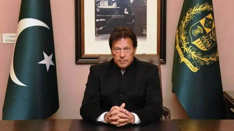 Protest erupts in Pak demanding Imran Khan to apologise over rape statement