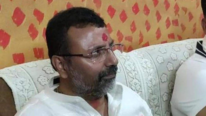 BJP MP seeks action against Muslim lawmaker for praying at a temple