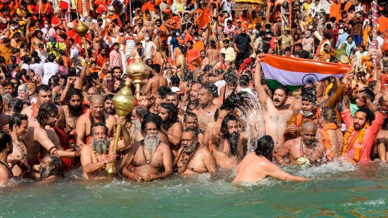 Over 1,000 test positive for Covid-19 at Kumbh Mela in 48 hours