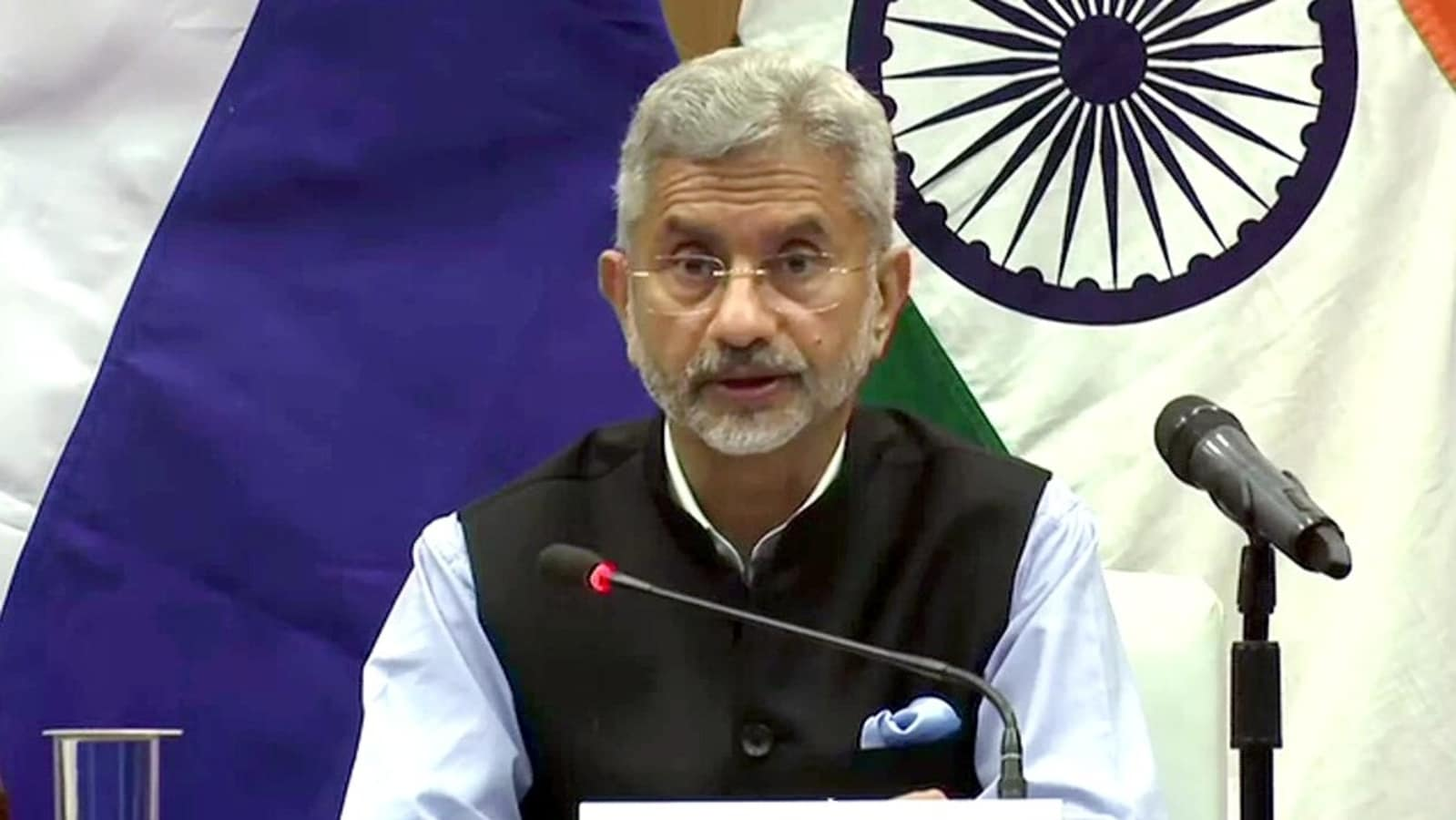 Jaishankar: unilateral change of status quo of the border area is not acceptable to India