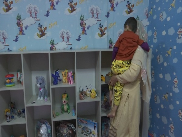 Toy library to save the children from depression