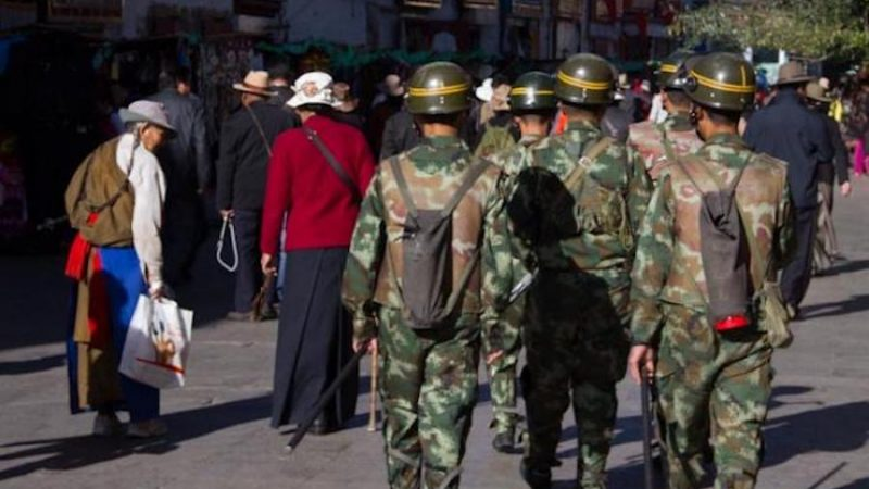 China police arrested four Tibetans in suspicion of spying