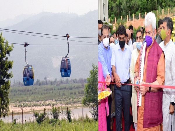 Peer kho ropeway launched in Jammu and Kashmir, LG Manoj Sinha inaugurates with the hope to boost tourism in valley