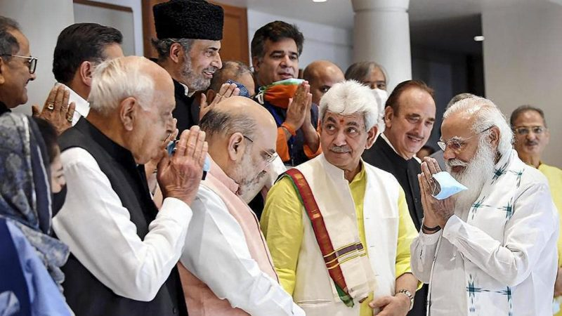 What J&K leaders said after meeting PM Modi