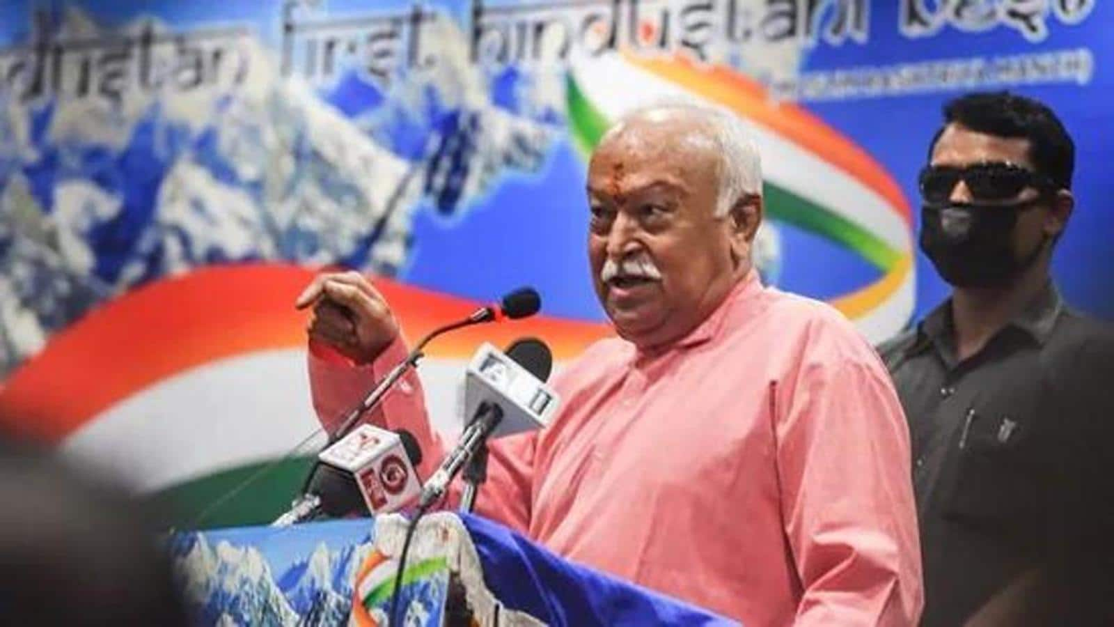 'Anyone who says Muslims should not live in India is not Hindu': Mohan Bhagwat