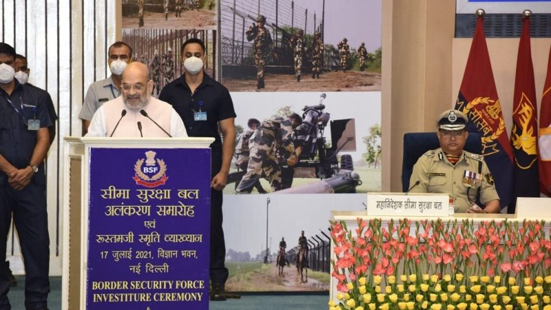 PM Modi gave India a defence policy, no one can challenge our borders now: Shah