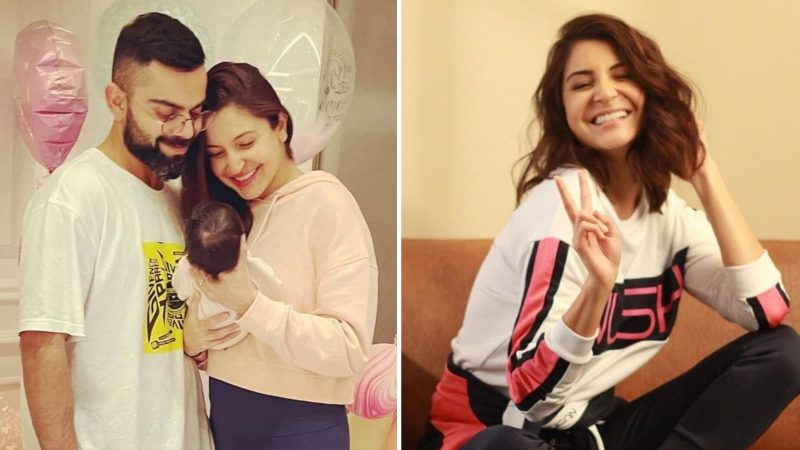 Anushka Sharma steps out for a stroll with daughter Vamika in the UK