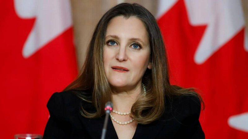 Canada's deputy PM in soup over controversial tweet